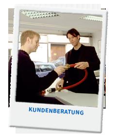 """In der Ausbildung im Bereich """"Technischer Handel"""" wirst Du viel lernen und Kunden beraten."""